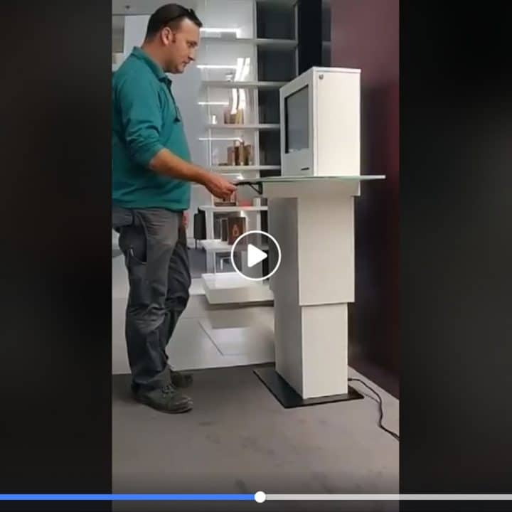 Αυτόνομος σταθμός εξυπηρέτησης στη βιβλιοθήκη Στέλιος Ιωάννου - Εφαρμοσμένες λύσεις της Piperaris Security στην Κύπρο