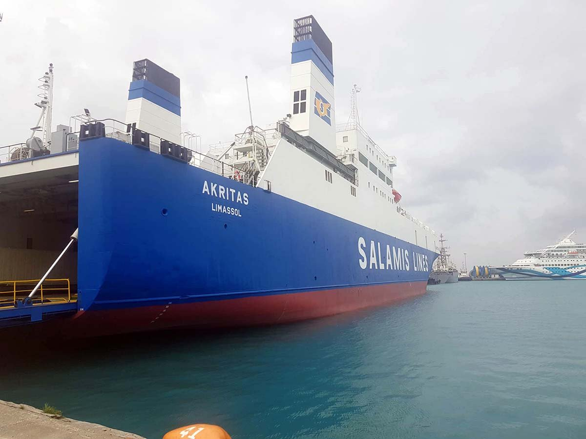 security solutions for salamis lines - cameras