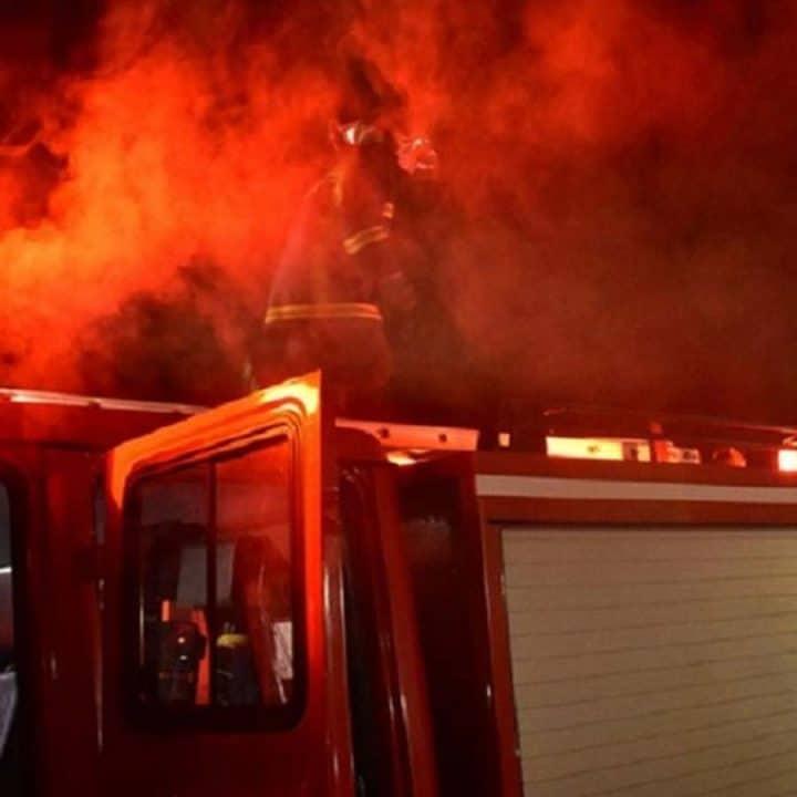 φωτιά σε πολυκατοικία στη Λεμεσό